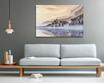 Skyrim painting print