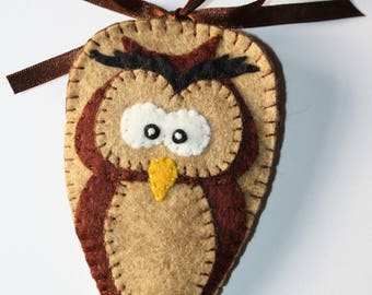 Owl Scissor Case Kit, Toadstool Scissor Case Kit, Scissor Case Kit, Sewing Kit