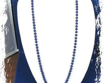 EHMN #49  Darice GLASS PEARL Necklace