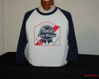 "Grateful Dead Shirt. ""Viola Lee Blues"" 3/4 sleeve Baseball Jersey"