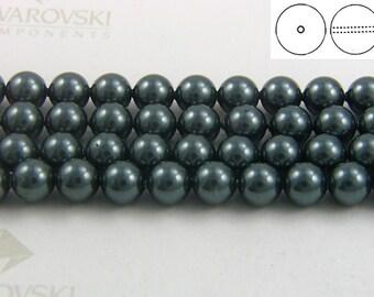 Swarovski #5810 Crystal Tahitian-Look Pearls Round Beads 4mm 6mm 8mm 10mm 12mm