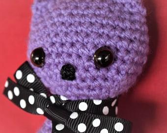 Crochet Kitty Cat Keyring/ Keychain, Crochet Cat, Plush Mini Cat, Soft Kitty Key ring / Key chain