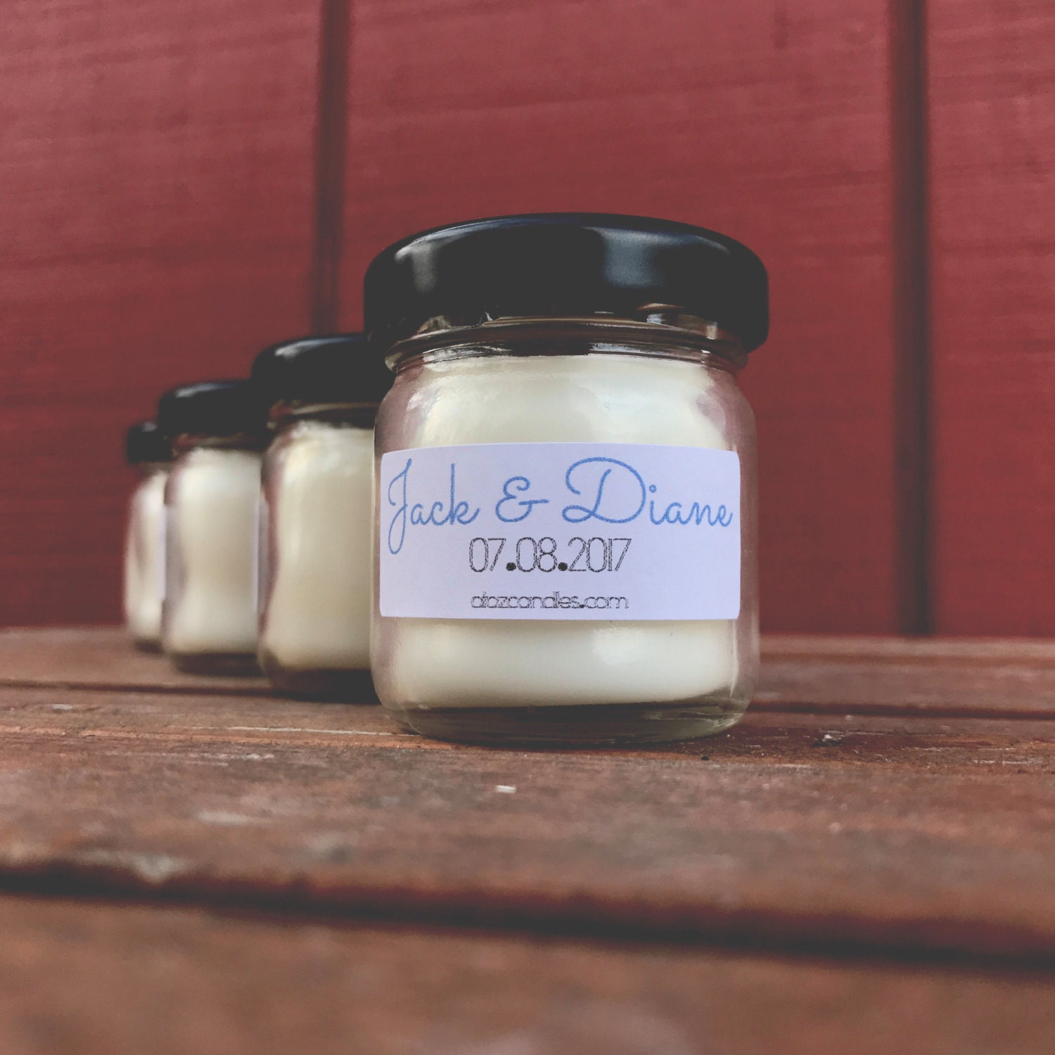 wedding favors for guests wedding favor candles by atozcandles