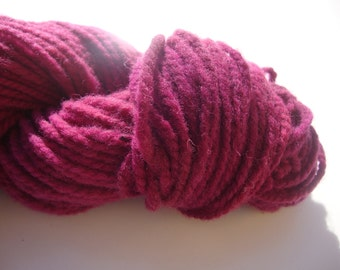 naturally dyed, hand dyed, multi-ply wool yarn