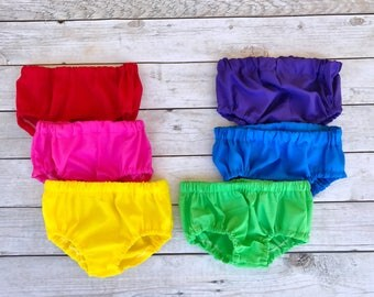 Bright Bloomers - Toddler Bloomers - Baby Girl Bloomers  - Hot Pink Bloomers - Summer Bloomers - Baby Girl Diaper Cover