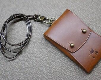 necklace card case