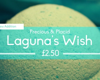 1 x Large Bath Bomb - Laguna's Wish