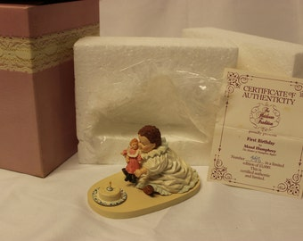 Maude Humphrey Bogart First Birthday H1320 collectible figurine 1988