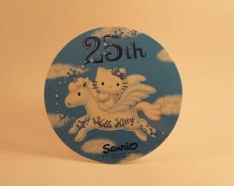 hello kitty 25th anniversary