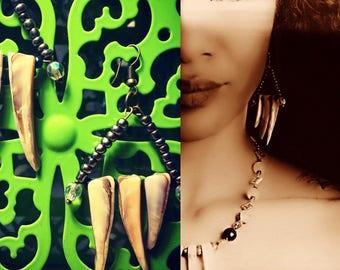 Seashell Spike Earrings