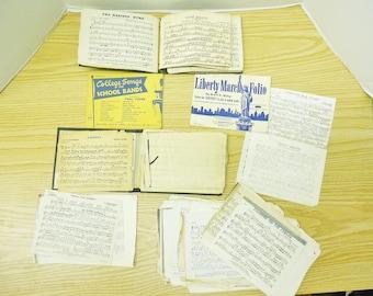 Vintage Flute Sheet Music Lot + 90 SHEETS!!