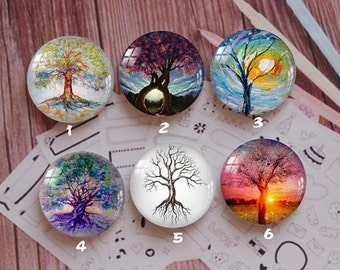 Handmade Round Photo glass Cabochons,8mm -58mm size Cute Animal Style Butterfly More-ZY881