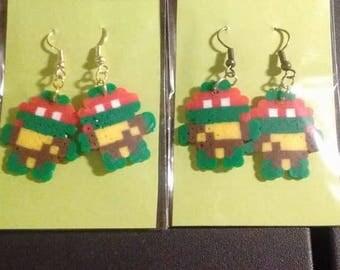 ninja turtle earrings