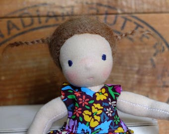 Party Pocket Pixie- Waldorf style doll