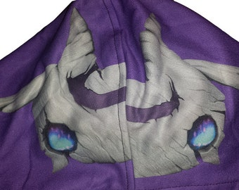 MISPRINT DISCOUNT League of Legends Kindred Wolf Inspired Hoodie