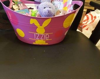 Kids easter gift etsy custom filled easter bucketcustom kid giftkid gift bucketeaster gifts for negle Choice Image