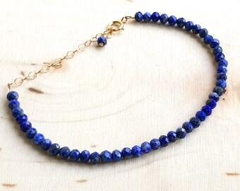 Lapis Layering Bracelet