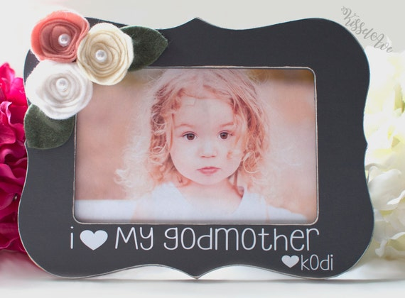 Godmother Gift Mothers Day Gift Godmother Personalized Picture