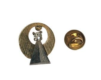 Star Trek Vulcan IDIC Symbol 1/2 Size Classic Original Series Metal Pin Costume Accessory