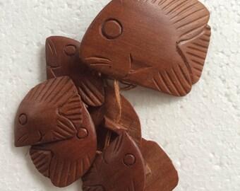 Wood Button Set,Carved Button Set,Fish Button Set,Tropical Button Set,Sealife Button Set,Exotic Button Set,Retro Button Set,Ocean Button Set