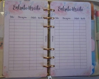 Insert refill planner personal Format/medium Outputs or Revenue expenditure pocket/small