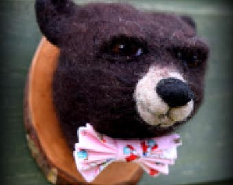 Needle Felted Black Bear