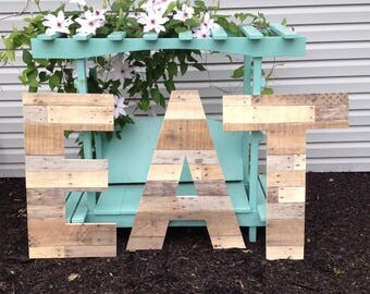 "30"" Untrimmed Reclaimed Wood Letters 