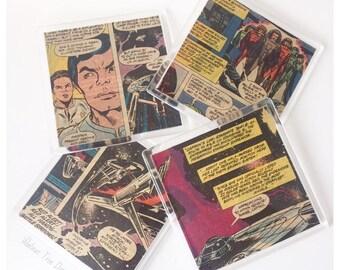 Star Trek Vintage Comic Coasters