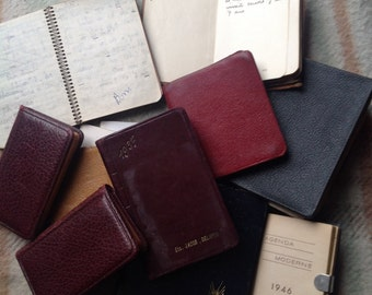 French diaries, booklets and address books