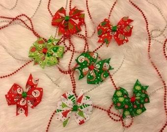 Children's Christmas Bows