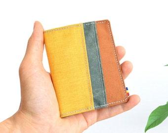 Minimalist wallet, Bifold wallet, Vegan wallet, Mens wallet, Womens wallet, Mens bifold wallet, Slim wallet, Slim vegan wallet
