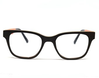 Wood Eyeglasses Ebony Wood Black Wood Glasses Eco Eyeglasses Wooden Glasses Prescription Frames Sustainable Glasses Hipster Glasses