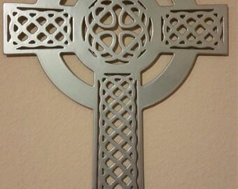 Metal Celtic Cross