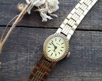 Rare ladies watches, self-winding watches, collectible watches, gold plated watches, miniature watches, small watches, watches of the USSR
