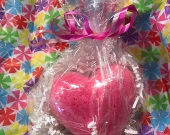 25 Pack Large Heart Bath Bomb Set