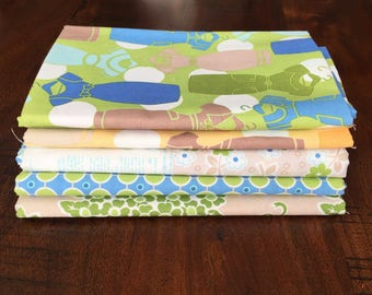 Fat Quarter Set Riley Blake Cotton Quilt Fabric Millie's Closet by Bee in my Bonnet