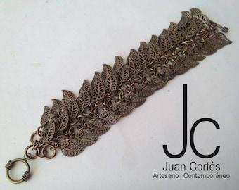Leaves bracelet Vintage