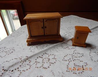 Dollhouse Sideboard and matching Nightstand