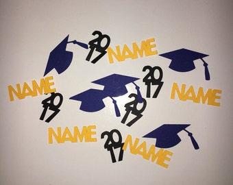 Graduation Table Decor Confetti - Customizable Colors!