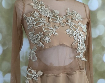Custom couture dance costume deposit, Lyrical Dance Costume, lyrical dance costume, Custom Dance Costume, dance costume for competion