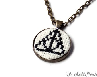 Deathly Hallows Necklace. Harry Potter Jewelry. Made to Order.