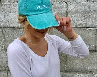 Beach Waves - Embroidered Trucker Hat