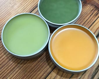 3 pack combo - Relax, Lights Out and Pain Relief Natural Salves