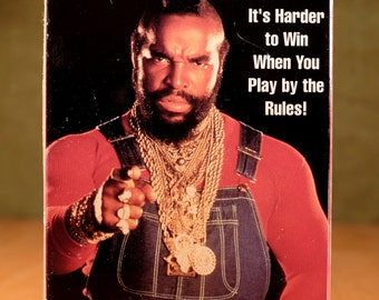 """Mr. T """"Toughest Man in the World"""" VHS tape"""