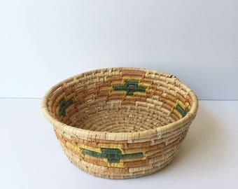 Retro Coiled Basket
