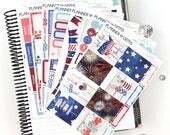 Liberty Deluxe Weekly Planner Kit | 269 Stickers | Planner Stickers | For Erin Condren LifePlanner