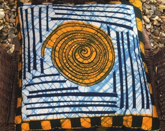African Wax Print, Decorative filled cushions, Throw Cushions, Ethnic Prints, Batik, African Textiles, Afrocentric