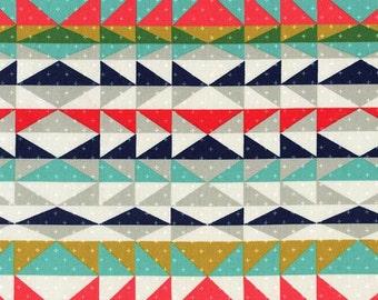Overlook Serape Fabric - Indigo - sold by the 1/2 yard