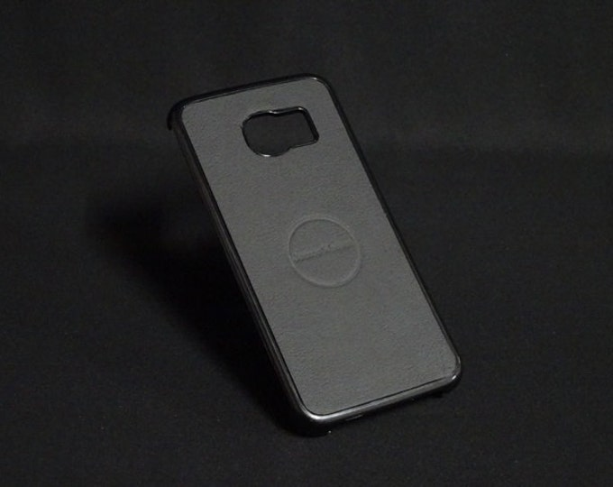 Jimmy Case - Fits Samsung Galaxy S6 Edge - Black - Kangaroo leather - Handmade - James Watson