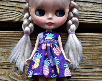 Pineapple Princess Blythe Dress